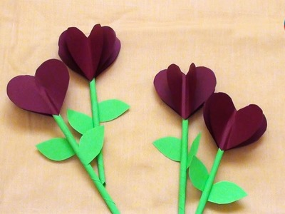 DO It Yourself Paper Flowers | Easy and Simple Paper Crafts for Everyone
