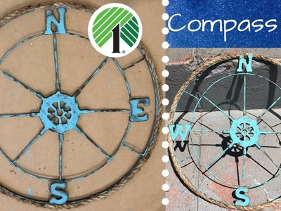 Dollar Tree Compass DIY