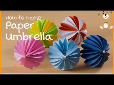 Easy and Creative Summer camp activities for kids 2019 | DIY Fun Ideas| Paper Umbrella|Part-1