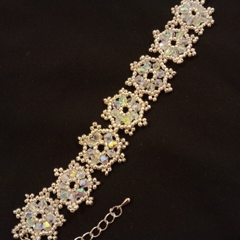 Handmade Snowflake Bracelet