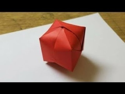 How To Make A Paper Ball.WaterBomb
