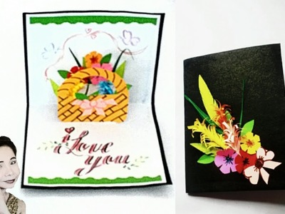 How to make DIY Pop Up Card. .