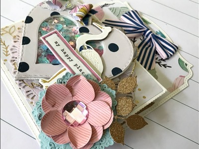 KSCRAFT | DT Project Share | Loaded TAG | Crate Paper Sunny days