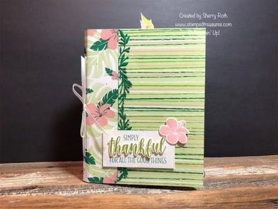 Mini Album Using 6x6 Patterned Paper