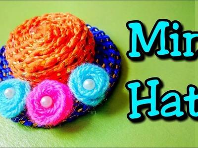 Mini hat   Mini cap   DIY hat   Miniature hat   DIY hat making with plastic bottle cap