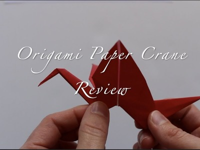Origami Paper Crane Review