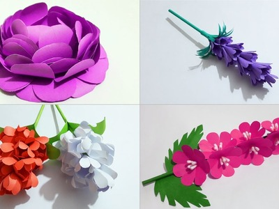 Paper Origami Flowers slideshow, Kagojer ful Collection slideshow
