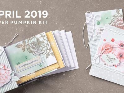 Paper Pumpkin April 2019
