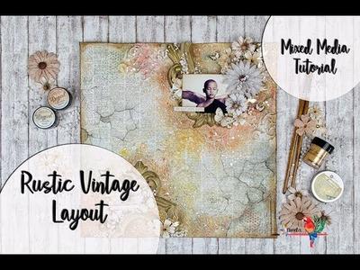 Rustic Vintage Layout (La Tienda de las Manualidades)