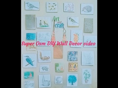 Super awesome DIY wall Decore