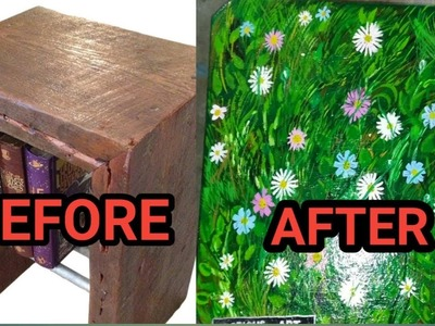 Wow Super cool DIY video   Waste furniture reuse best idea   Best out of waste