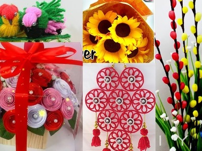 5 Simple and smart craft for decoration | Easy showpiece ideas