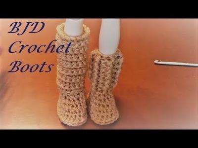 BJD Crochet Boots