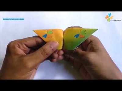 Club Mahindra - Origami Flapping Butterfly - Fun Activities for Kids on World Family Day