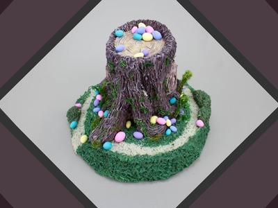 DIY Easter Fairy House