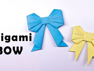 Easy Origami Paper Bow - Cute origami
