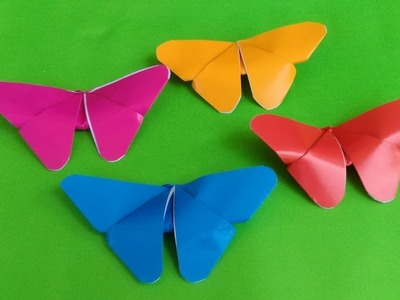 How to make Amazing Butterfly from Paper ll ORIGAMI