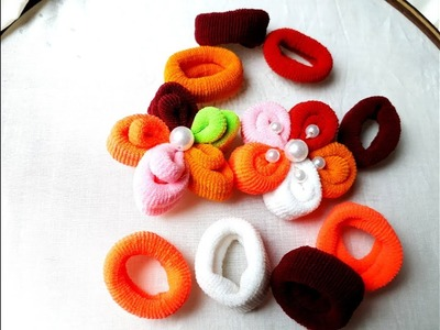 New trick embroidery sewing trick with hair band