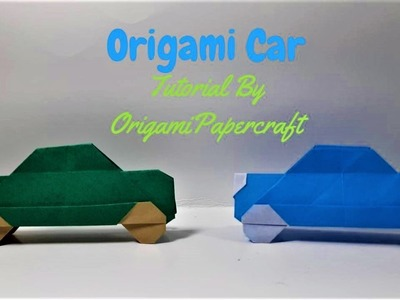 Origami Car ???????? Tutorial By OrigamiPaperCraft