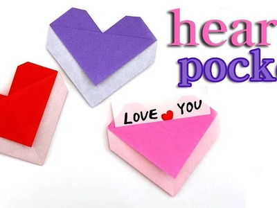 Easy Instructions to Fold an Origami Red Paper Heart   300x400