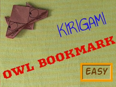 Origami Owl Corner Bookmark - Easy (explained)