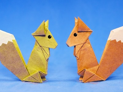 #Origami #Squirrel - How to Make Squirrel Step by Step