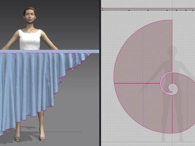 Summer Ruffle Flounce Skirt -PDF sewing pattern - ETSY shop