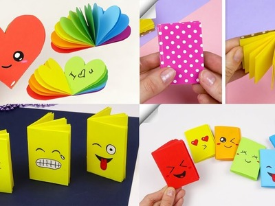 4 DIY mini notebook | How to make notebook