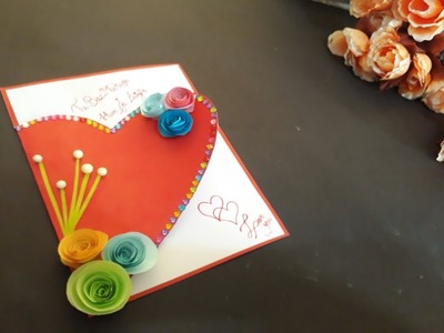 #AshiArt #loveyoue #specialcard      Handmade Love card For someone special   propose card idea
