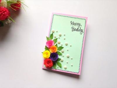 Beautiful Handmade Birthday pop up card idea.Birthday card idea.