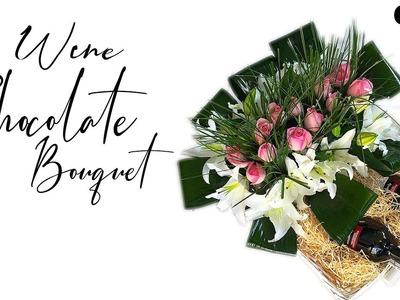 DIY Gift Idea | DIY Alcohol Bouquet |How To Make Wine Chocolate Bouquet  By CSDO