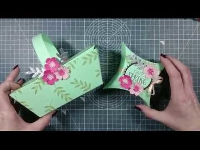 DIY Paper Picnic Basket Tutorial | Simply Made Crafts With Helen Griffin