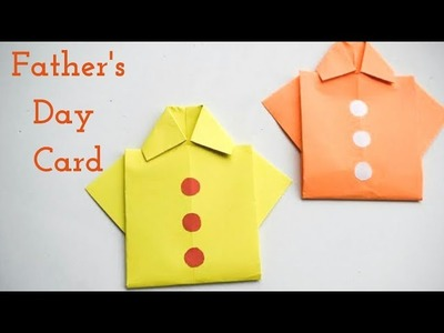 Easy & Cute Fathers Day Card | Handmade Fathers Day Greeting Card | Cute Ideas for Fathers Day