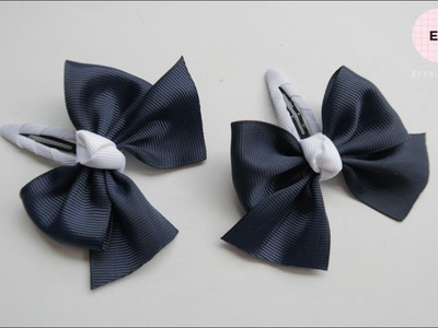 Hair Bow. Ribbon Bow For School Custom Order From Customer ???? DIY by Elysia Handmade