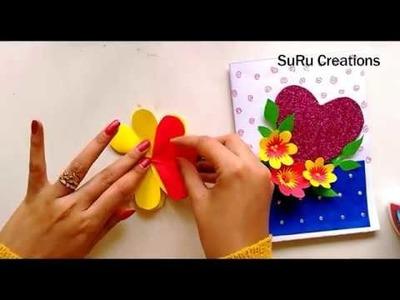 Handmade Card for Mother's Day | Beautiful Handmade Card | 2019
