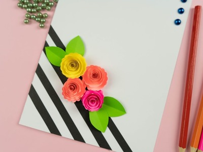 Handmade Mother's Day card. Mother's Day pop up card making
