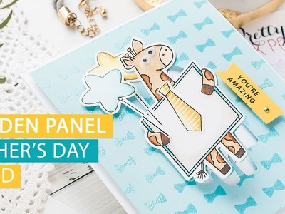 Hidden Panel Father's Day Card - Easy Handmade Cards