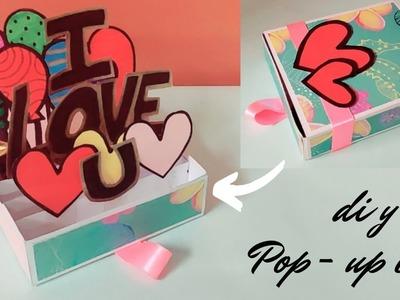 How to make pop up explosion  box | handmade card for birthday | diy birthday card ideas