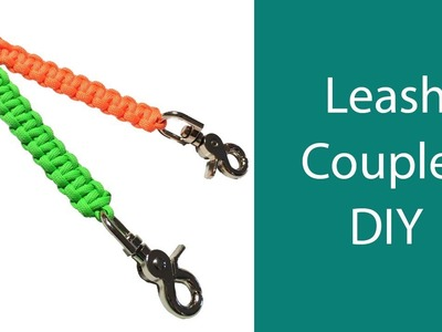 Leash Coupler DIY - Walk Both Your Dogs at Once Easily!
