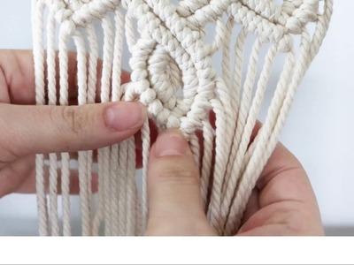 Macrame Tutorial | Tips and Hacks No. 1 | Adding Cord