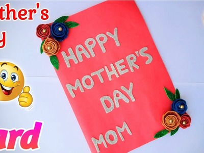 Mother's Day Special Card. Handmade Mother's Day card. Mother's Day Greetings Card Making