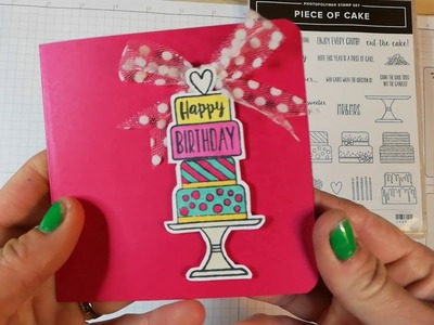 Piece of Cake Handmade Cards - fun, easy and gorgeous results
