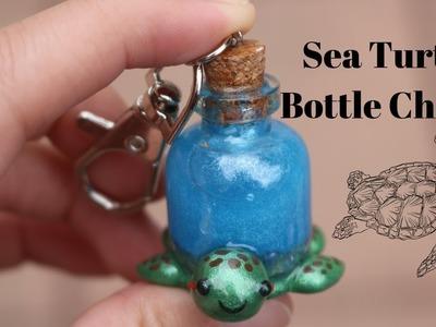 Sea Turtle Shaker Bottle Charm Tutorial | Ahhmey Creations