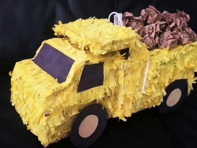 ????Truck Pinata ???????? DIY Piñata | Birthday party ideas for boys | DIY Pinata for Boys