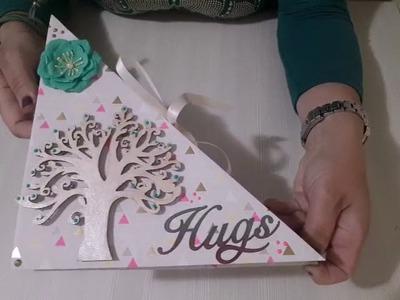 Album scrapbooking -Albero della Vita-Tree of life,hugs and love