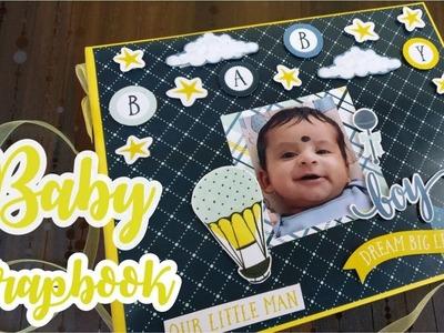Baby Photo Album ScrapBook || The Craft Gallery India