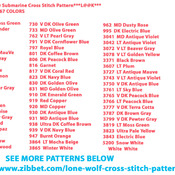 CRAFTS Beatles Yellow Submarine Cross Stitch Pattern***LOOK***