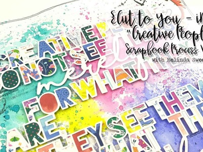 CUT to YOU for iNSD | Creative People |Scrapbook Process Video #163