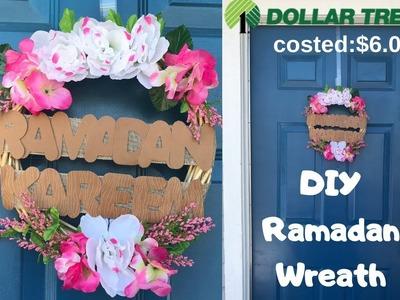 DIY Ramadan Wreath 2019.RAMADAN IDEAS