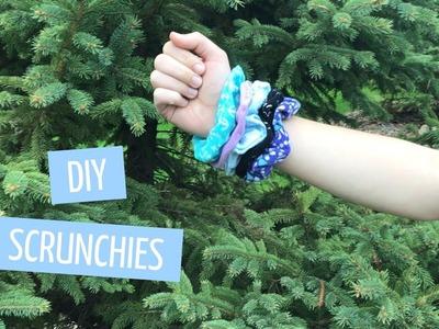 DIY Sew and No-Sew Scrunchies | Elisabeth Acrylic